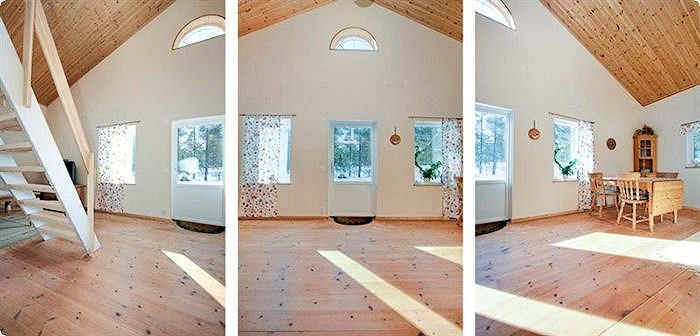 Bildergalerie schweden immobilien online - Panoramabild schlafzimmer ...