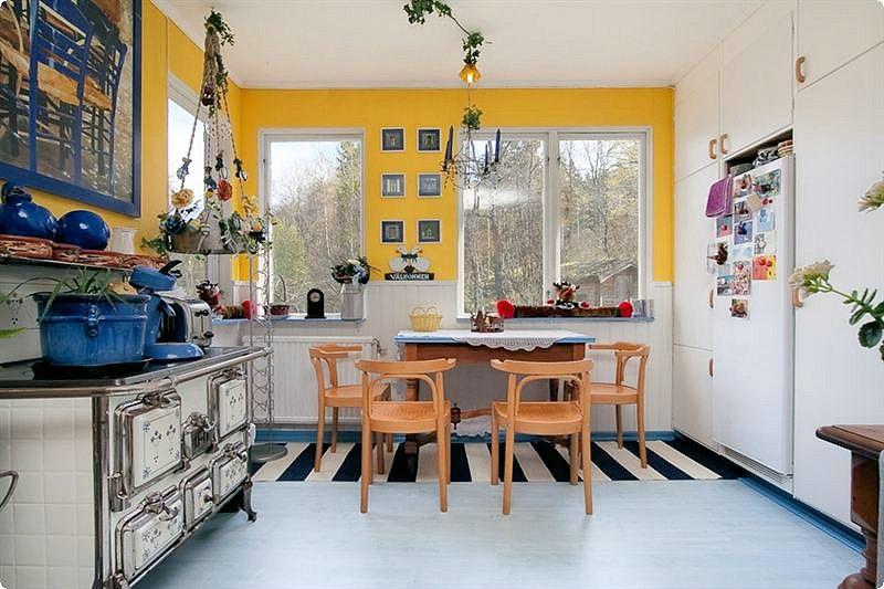 Schwedische kücheneinrichtung  Bilder innen, EG | Schweden Immobilien Online
