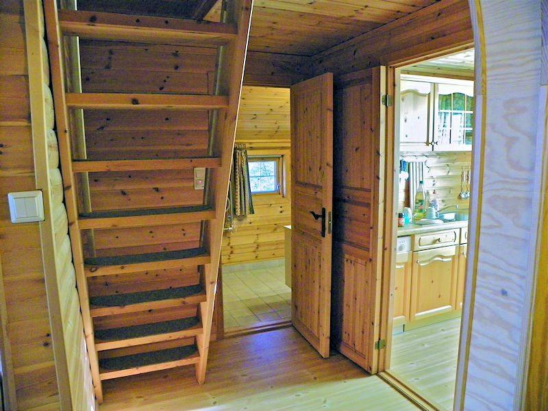 Bilder innen   Norwegen: Tolles Blockhaus in toller Lage an der ...