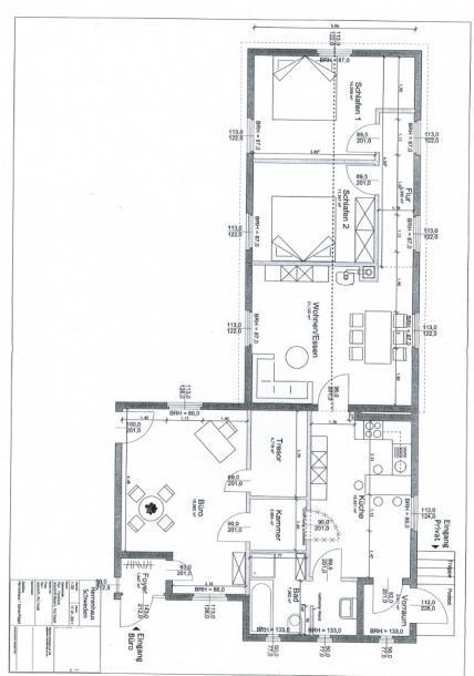 grundrisse des pastorates schweden immobilien online. Black Bedroom Furniture Sets. Home Design Ideas